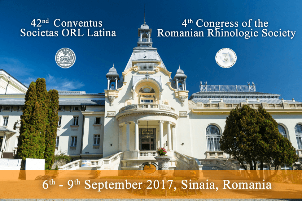 4th Congress of the Romanian Rhinologic Society /6-9 Σεπτεμβρίου 2017